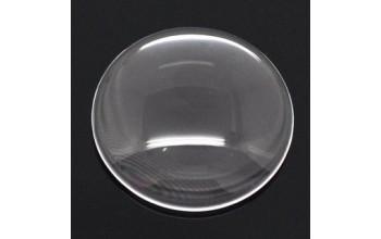Skaidraus stiklo kabošonas, 20mm