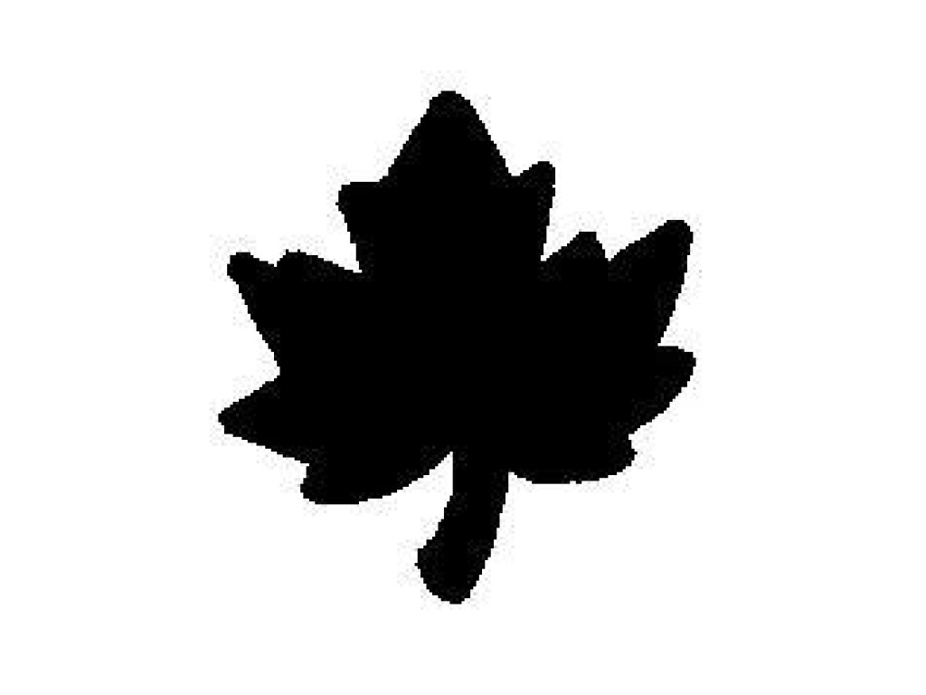 """Dek. skylamušis """"Maple Leaf 15x14mm"""""""