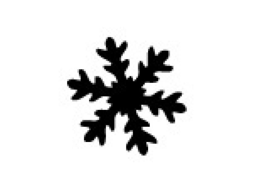 """Dek. skylamušis """"Snowflake-3 25x25mm"""""""