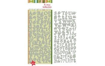 "Lipdukai ""Alphabet Stickers Glitter Silver"""