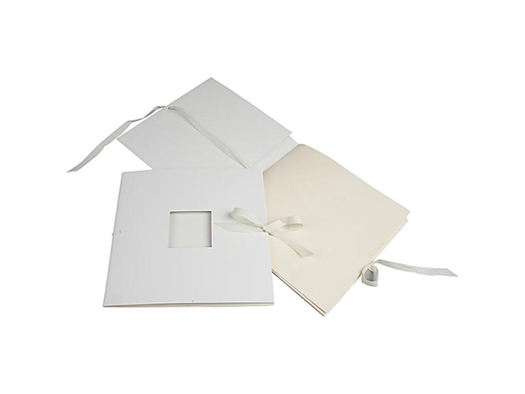 "Mini albumas ""Book With Ribbon"", 20x20cm"