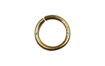 Sujungimo žiedelis sendinto aukso spalvos, 7mm